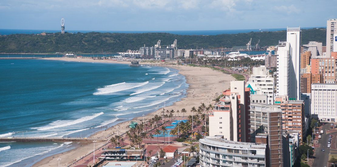 Durban, South Africa. It looks a lot different from when I was there in the 1970s. It's where I learned about managing diverse groups.